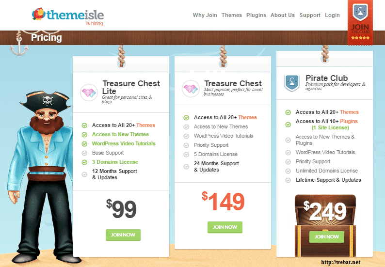 themeisle-pricing-plan