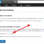 How to Enable Two-step verification system to your LinkedIn account [step-by-step guide]